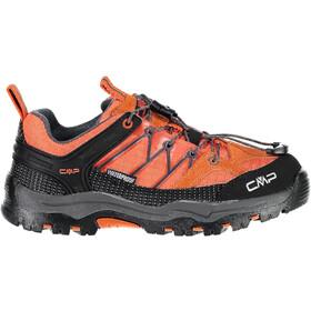 CMP Campagnolo Rigel Low WP Trekking Shoes Junior Orange-Antracite
